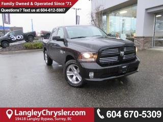 Used 2017 Dodge Ram 1500 Sport <B>*NAVIGATION*8.4 TOUCHSCREEN*BLUETOOTH*<b> for sale in Surrey, BC