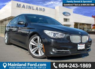 Used 2010 BMW 550i Gran Turismo i BC LOCAL, LOW KMS for sale in Surrey, BC