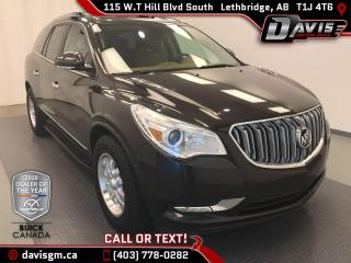 Used 2013 Buick Enclave Premium AWD, 7 PASSENGER, HEATED/COOLED LEATHER for sale in Lethbridge, AB