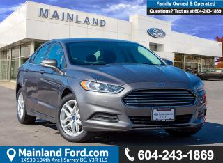 Used 2014 Ford Fusion SE ***BC LOCAL*** for sale in Surrey, BC