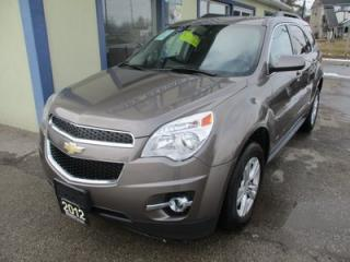 Used 2012 Chevrolet Equinox POWER EQUIPPED 1-LT MODEL 5 PASSENGER 2.4L - ECO-TEC.. ECO-BOOST.. HEATED SEATS.. BACK-UP CAMERA.. BLUETOOTH SYSTEM.. for sale in Bradford, ON