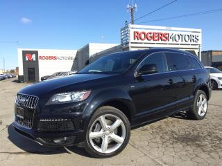 Used 2014 Audi Q7 TDI - S-LINE - 7 PASS - NAVI - PANO ROOF for sale in Oakville, ON