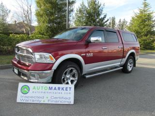 Used 2014 Dodge Ram 1500 LARAMIE, CREW CAB, LOADED, INSPECTED, WARRANTY for sale in Surrey, BC