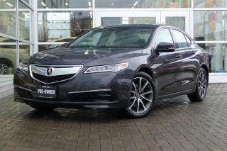 Used 2015 Acura TLX 3.5L SH-AWD w/Tech Pkg Low Kms! Navi! for sale in Vancouver, BC