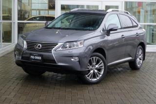Used 2014 Lexus RX 350 6A Low Kms! Navi! Loaded! for sale in Vancouver, BC