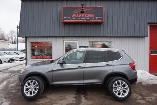 Used 2013 BMW X3 Xdrive28i Xdrive Cuir Toit for sale in Saint-romuald, QC