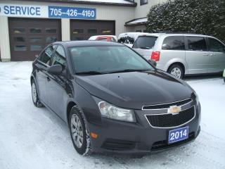 Used 2014 Chevrolet Cruze LT for sale in Beaverton, ON