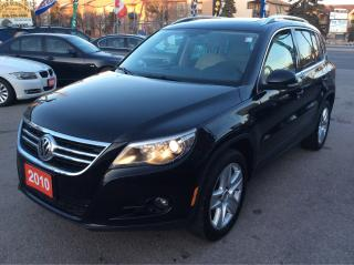 Used 2010 Volkswagen Tiguan 4Motion/Bluetooth/Leather/Sunroof/No Accidents!!! for sale in Scarborough, ON
