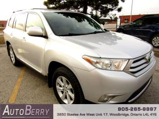 Used 2011 Toyota Highlander 4WD - Bluetooth - 7 Passenger for sale in Woodbridge, ON