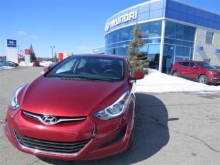 Used 2016 Hyundai Elantra GL for sale in Gatineau, QC
