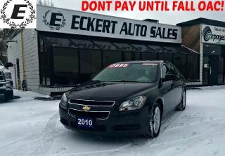 Used 2010 Chevrolet Malibu LS WITH LOW KMS for sale in Barrie, ON