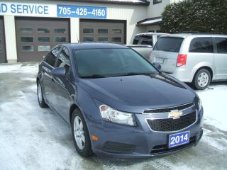 Used 2014 Chevrolet Cruze 2LT for sale in Beaverton, ON