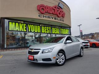 Used 2014 Chevrolet Cruze 1LT REAR CAM REMOTE START KEYLESS for sale in Scarborough, ON