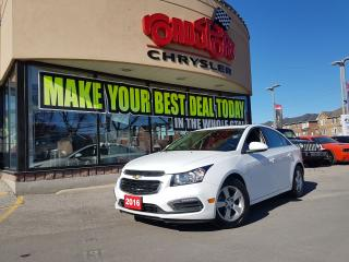 Used 2016 Chevrolet Cruze 2LT POWER SUNROOF REAR CAME LEATHER H-TED SEATS for sale in Scarborough, ON
