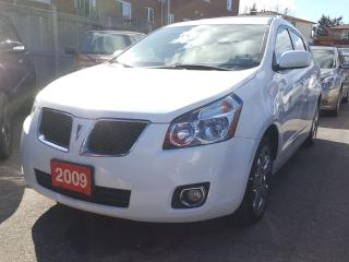 Used 2009 Pontiac Vibe LOW KMs 84K AWD/Roof-Rack/AUX input/Power-Grp/MINT for sale in Scarborough, ON