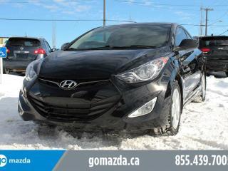 Used 2013 Hyundai Elantra GLS LEGENDARY COUPE SUNROOF HEATED SEATS for sale in Edmonton, AB