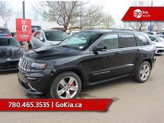 Used 2014 Jeep Grand Cherokee SRT; 470 HP, ADAPTIVE CRUISE, AWD, NAV, LEATHER, PANO ROOF, HEATED SEATS/WHEEL for sale in Edmonton, AB
