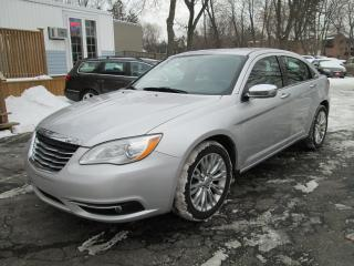Used 2012 Chrysler 200 Limited-REDUCED SALE PRICE ONLY $4988.00 for sale in Scarborough, ON