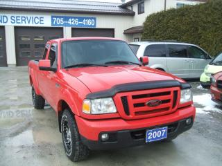 Used 2007 Ford Ranger SPORT , 4X4 , Ex. Cab for sale in Beaverton, ON