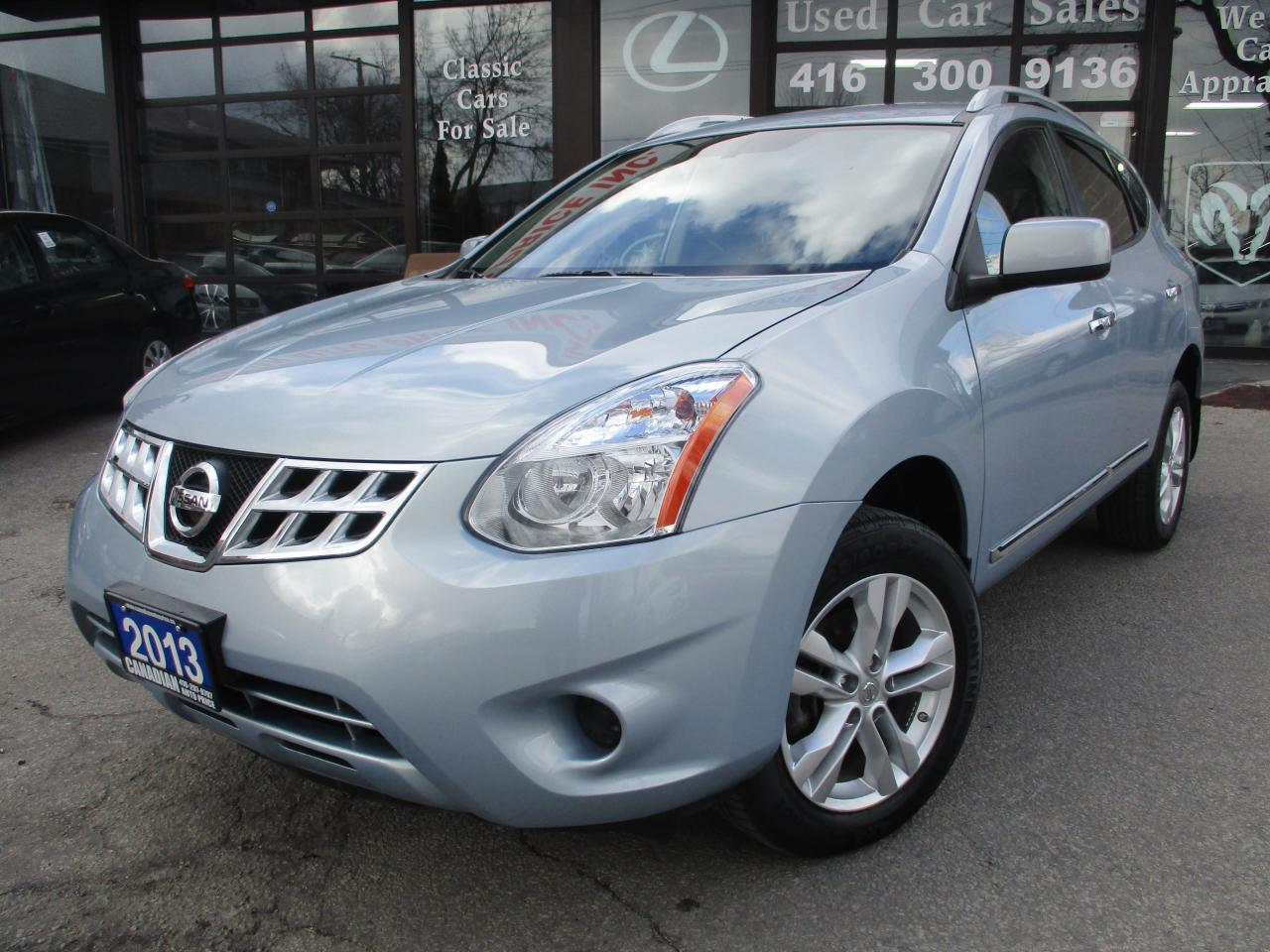 2013 Nissan Rogue SV-AWD-CAMERA-BLUETOOTH-HEATED-ALLOYS
