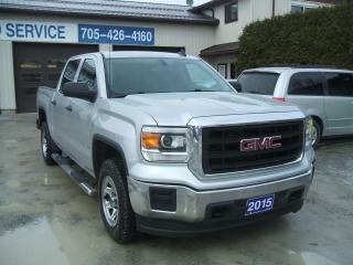 Used 2015 GMC Sierra 1500 Crew Cab, 4X4 , 5.3L V8 for sale in Beaverton, ON