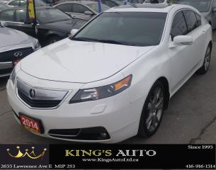 Used 2014 Acura TL SH-AWD w/Elite Pkg, LOADED!!! HEATED SEATS for sale in Scarborough, ON