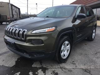 Used 2014 Jeep Cherokee Sport for sale in Cobourg, ON