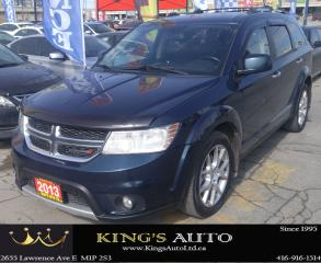 Used 2013 Dodge Journey R/T AWD, LEATHER, NAVIGATION for sale in Scarborough, ON