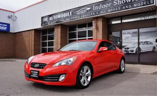 Used 2010 Hyundai Genesis Coupe GENESIS COUPE 3.8L V6 LOW KMS  NO ACCIDENT SUNROOF for sale in Mississauga, ON