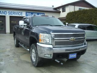 Used 2008 Chevrolet Silverado 2500 HD , Z-71 , LTZ, 4X4, Diesel , 4D Crew for sale in Beaverton, ON
