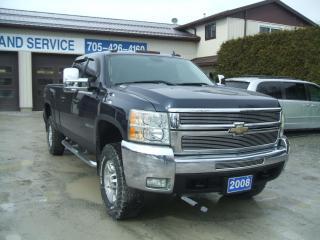 Used 2008 Chevrolet Silverado 2500 HD , Z-71 , LTZ, 4X4, Diesel , 4D Crew for sale in Beaverton, ON