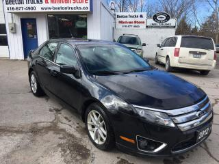 Used 2012 Ford Fusion SEL for sale in Beeton, ON