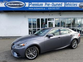 Used 2015 Lexus IS 250 PREMIUM AWD for sale in Langley, BC