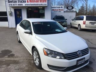 Used 2013 Volkswagen Passat Leather seats for sale in Beeton, ON