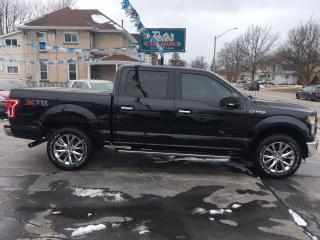 Used 2015 Ford F-150 XLT XTR CREW 4X4 for sale in Dunnville, ON