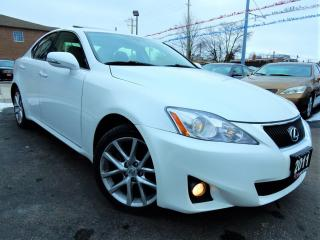 Used 2011 Lexus IS 250 AWD | LEATHER.ROOF | PUSH START | LOW KM for sale in Kitchener, ON