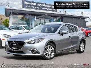 Used 2015 Mazda MAZDA3 GS-SKY AUTO |NAV|ROOF|CAMERA|WARRANTY|PHONE|1OWNER for sale in Scarborough, ON