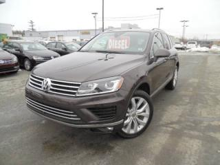 Used 2015 Volkswagen Touareg EXECLINE for sale in Dartmouth, NS