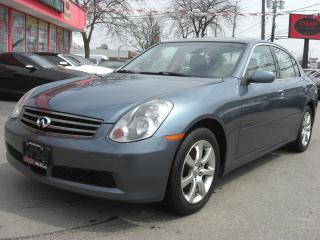 Used 2005 Infiniti G35X Luxury for sale in London, ON
