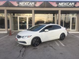 Used 2014 Honda Civic EX AUT0 A/C SUNROOF BACKUP CAMERA 82K for sale in North York, ON