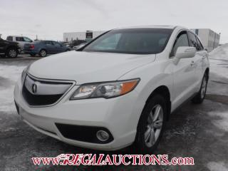 Used 2013 Acura RDX BASE 4D UTILITY AWD 3.5L for sale in Calgary, AB