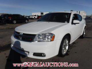 Used 2012 Dodge AVENGER SXT 4D SEDAN 2.4L for sale in Calgary, AB