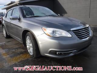Used 2012 Chrysler 200  4D SEDAN for sale in Calgary, AB