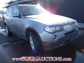 Used 2008 BMW X3 3.0SI 4D UTILITY for sale in Calgary, AB