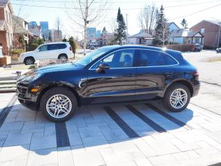 Used 2016 Porsche Macan Black for sale in Etobicoke, ON