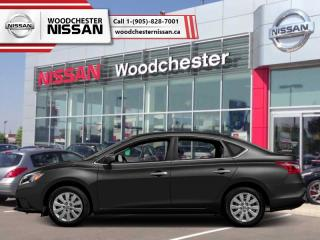 New 2018 Nissan Sentra 1.8 SV  - Bluetooth -  Heated Seats - $148.87 B/W for sale in Mississauga, ON
