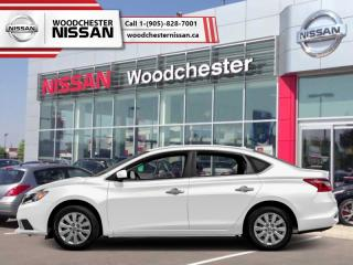 New 2018 Nissan Sentra 1.8 S CVT  - Bluetooth -  Power Windows - $143.25 B/W for sale in Mississauga, ON