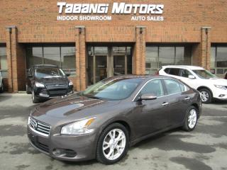 Used 2013 Nissan Maxima SL | LEATHER | SUNROOF | HEATED SEATS & STEERING | for sale in Mississauga, ON