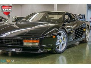 Used 1988 Ferrari Testarossa - -by appointment only- for sale in Oakville, ON