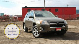 Used 2009 Toyota RAV4 LIMITED V6 AWD | SUNROOF | LEATER | HEATED SEATS | BACKUP CAMERA for sale in Hamilton, ON